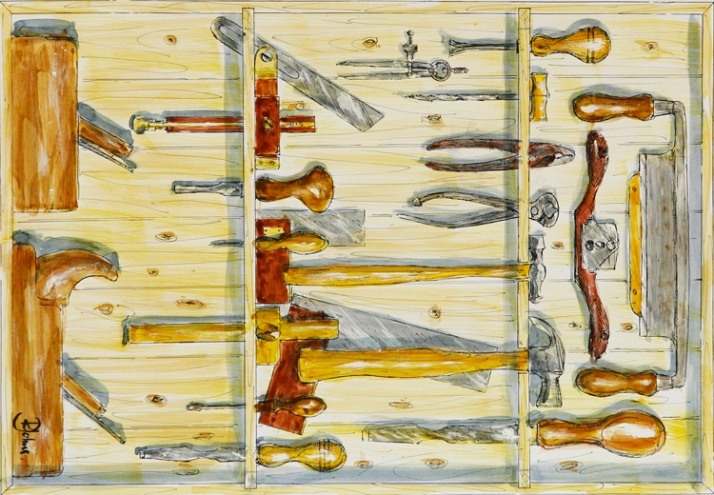 Richard Johns - 'Sheffield Tools'
