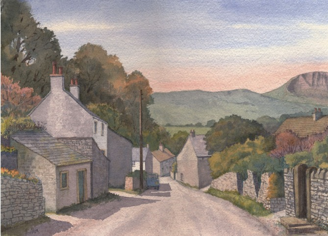 Ray Hensher - Back Lane, Castleton