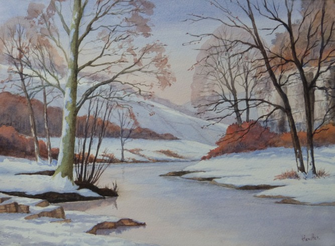 Ray Hensher - Millers Dale Derbyshire
