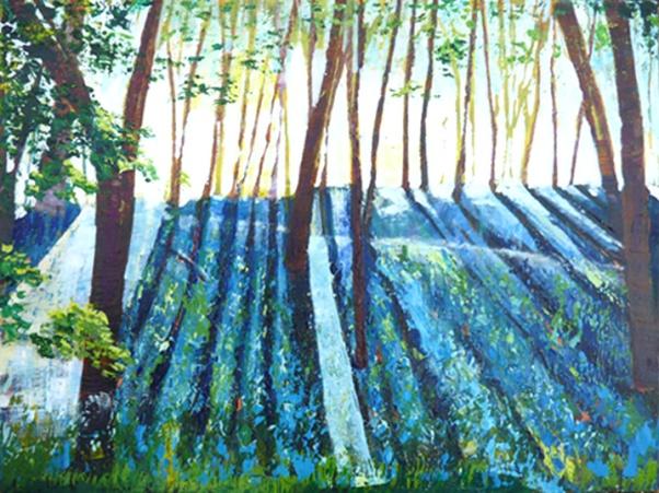 John Able - Sunshine on bluebells