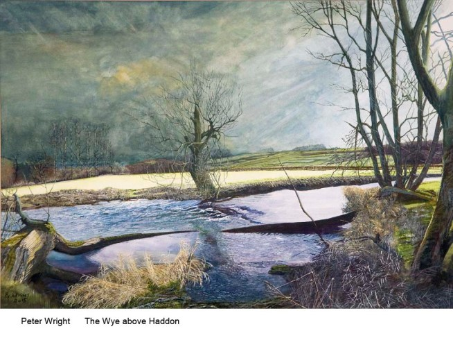 Peter Wright      The Wye above Haddon