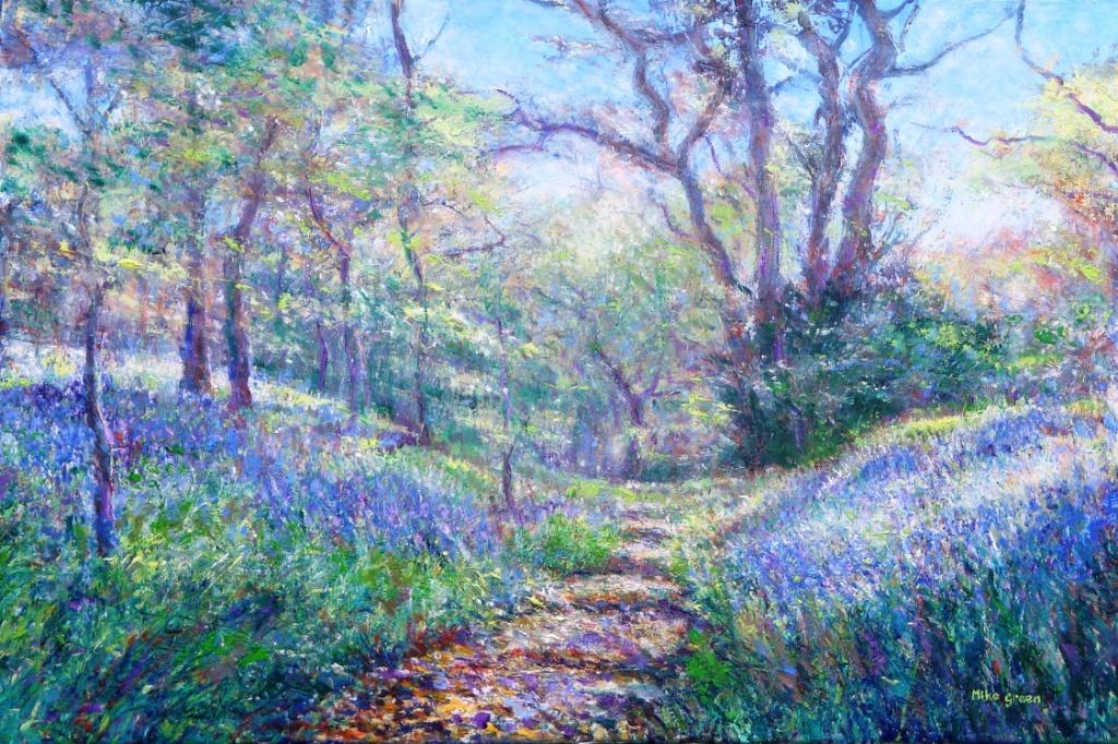 Mike Green - Bluebell Walk (Ecclesall Woods, Sheffield)
