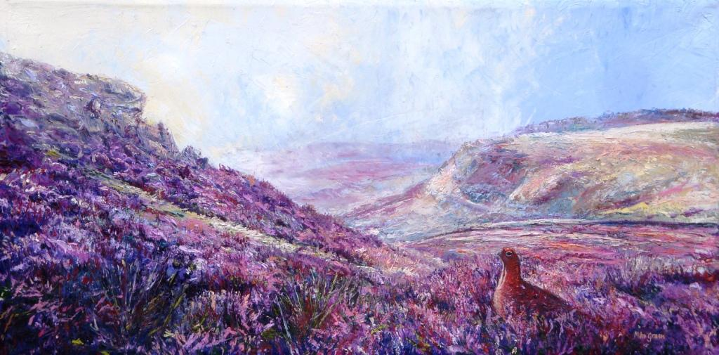 Mike Green - Heather and Grouse (Higger Tor, Hathersage, Derbyshire)