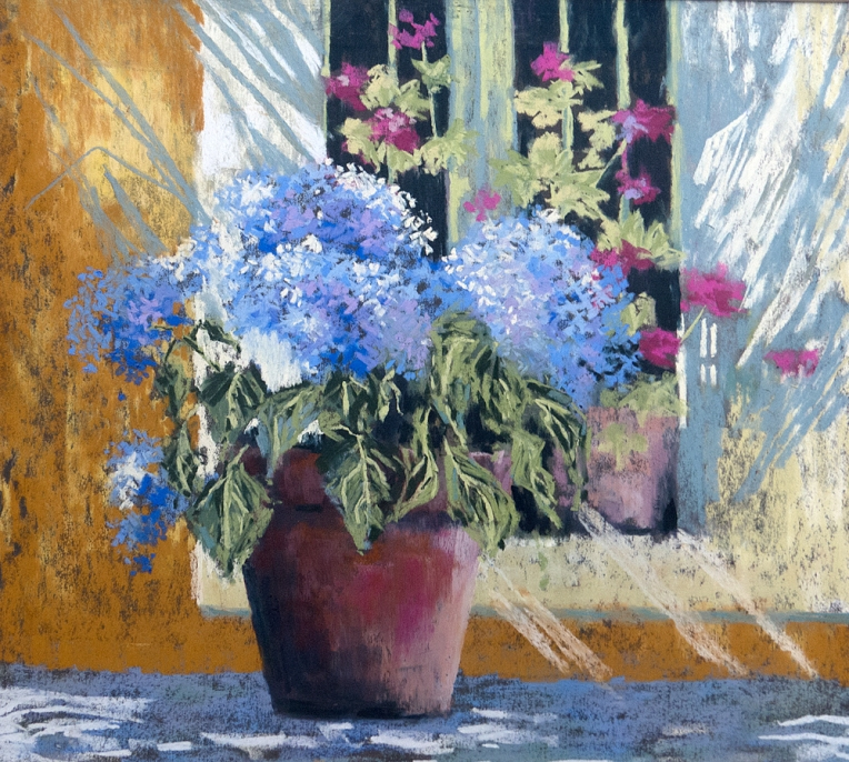 Caroline Egglestone - Blue Hydrangea
